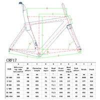 2018 Newest Road Bike Tripod T1000 UD Carbon Bike Frame Racing Bike Frame
