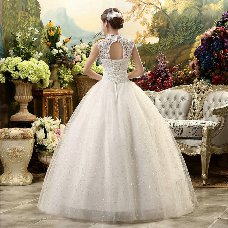 LAMYA 2018 New Style Custom Make Lace Wedding Dress Sweet Ball Gown ...
