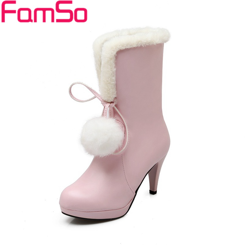Plus Size34 43 2016 new Sexy font b Women b font Boots High Heels Motorcycle Boots