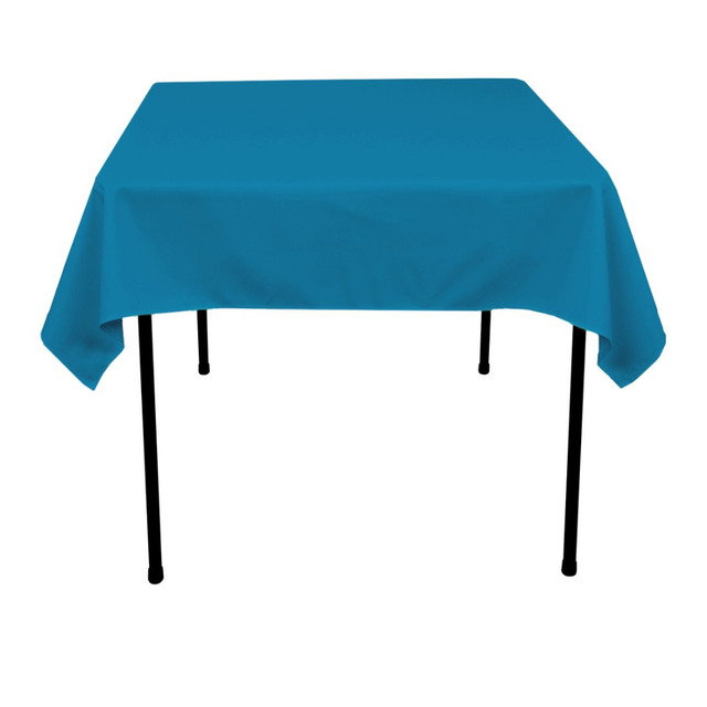 16 Colors 100% Polyester Square TableCloth In Different Size Dining Table Cloth For Hotel Office Home Wedding Party Decor