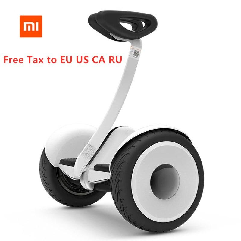 Самобалансирующийся скутер оригинальный Xiaomi Mijia мини двухколесный умный электрический скутер 10 дюймов Ховерборд скейтборд для Gokart комплек... - 2