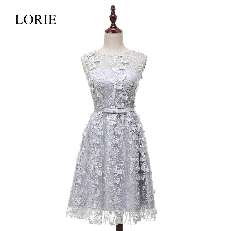 Silver Short Prom font b Dresses b font Free Shipping 2016 Vestidos Curtos Jewel Neck Sexy