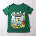 new arrival summer kids t shirts girl t-shirt christmas green boys and girls short sleeve t-shirts girls tops for 2-14 years