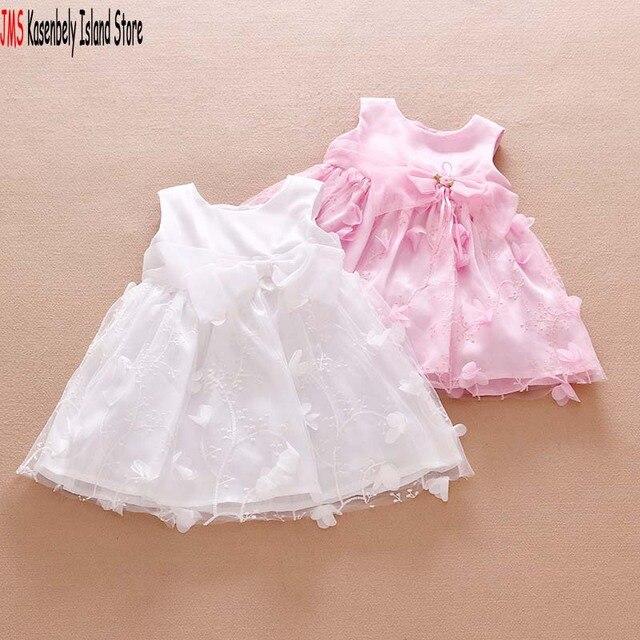 Jms Kasenbely Summer Baby Girl Cute Princess Dress Sleeveless Knee