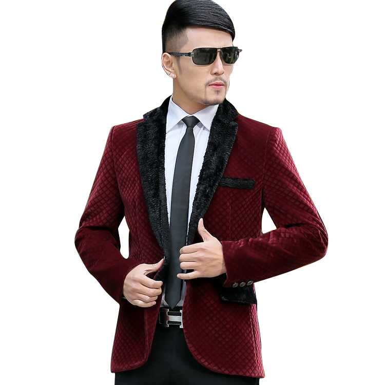 Popular Wool Blazer Men-Buy Cheap Wool Blazer Men lots from China