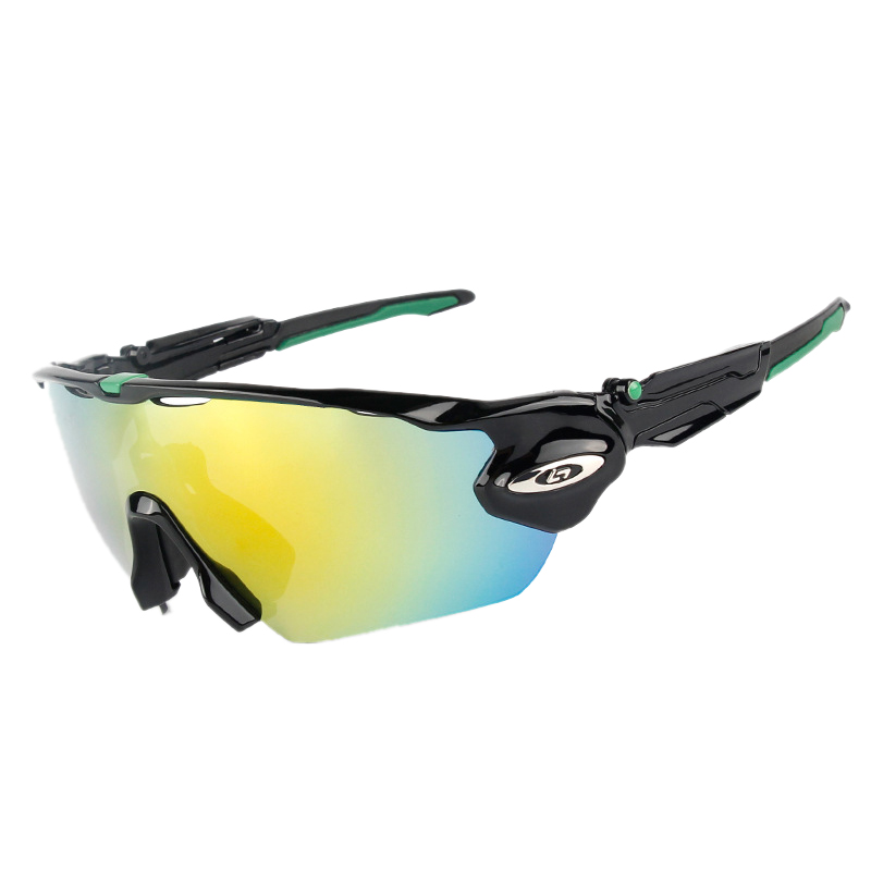 Obaolay Polarized Cycling Glasses 5 Lens Man Mountain Bike Goggles Eyewear Sport Mtb Bicycle font b