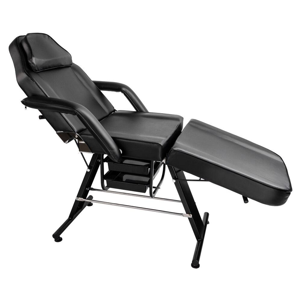 """70 """"einstellbare Schönheit Salon Spa Massage Tattoo Bett Ausrüstung Schwarz Exquisite Handwerkskunst;"""