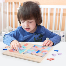 Wooden puzzle toys for babies colorful puzzle board for children educational toys Children s educational toys