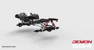 Image 4 - CROSS RC 1/10 kit SG4 4X4 4WD DEMON Rock Scale Crawler ABS Hard Body with Metal Axles sports crawler