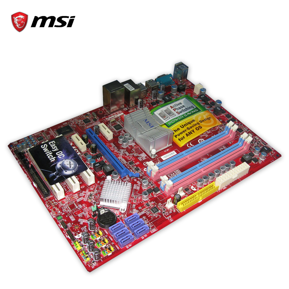 все цены на MSI P43D3 NEO-F Original Used Desktop Motherboard P43 Socket LGA 775 DDR3 SATA2 USB2.0 ATX онлайн