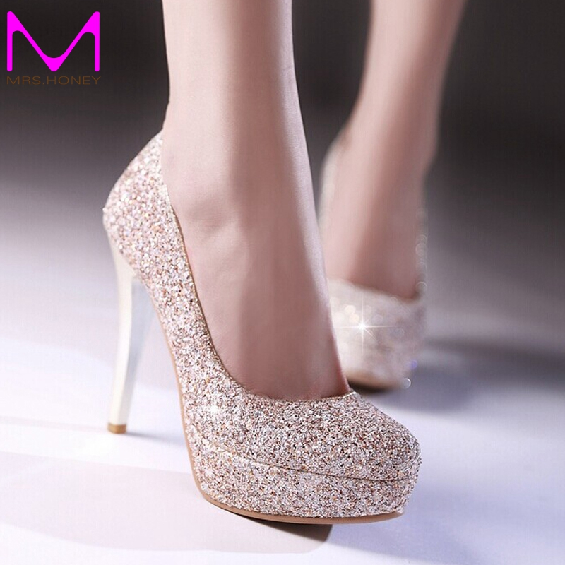Online Buy Wholesale prom shoes gold from China prom shoes ...