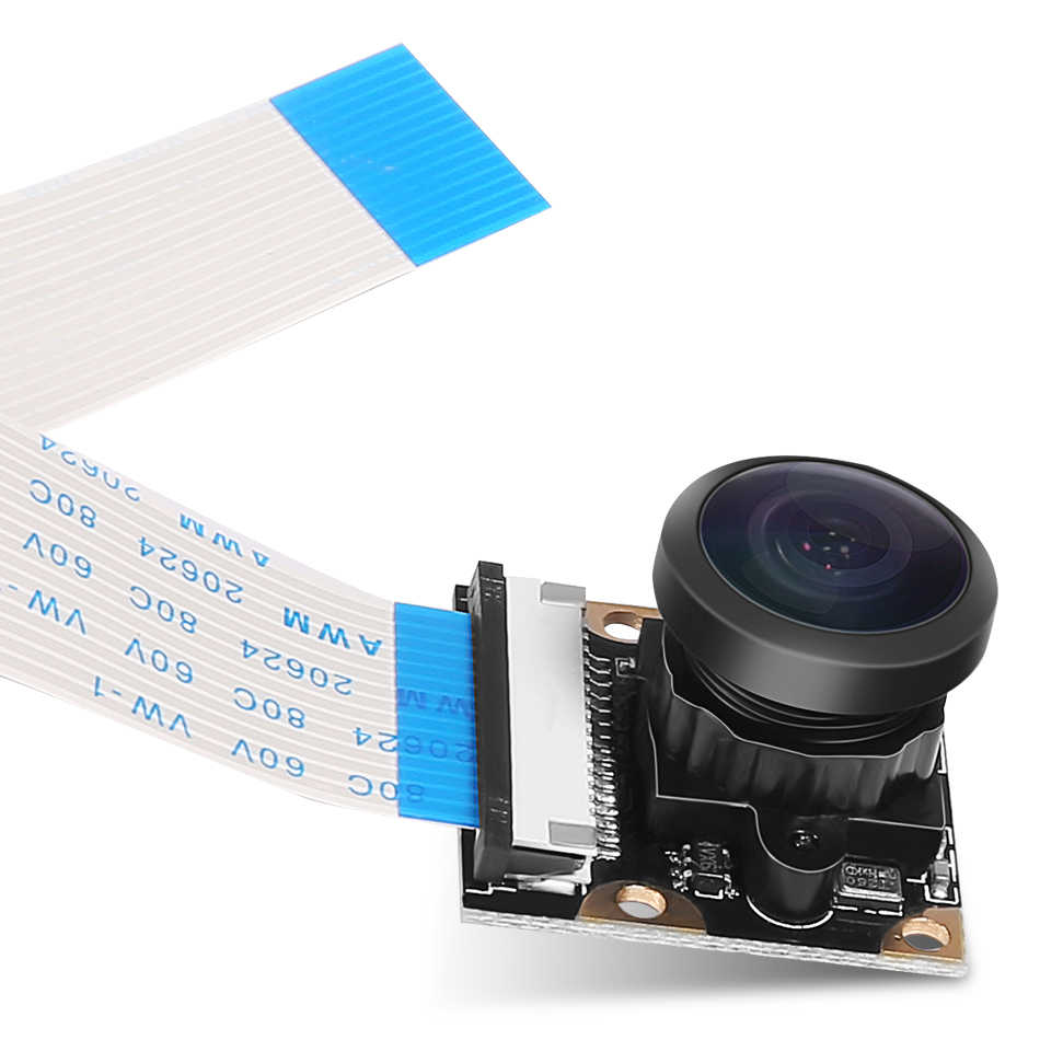 Module de caméra Raspberry pi 3, grand Angle de 130/160/222 degrés, 5M pour caméra 1080P pour Raspberry Pi modèle B + Vision nocturne