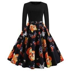 Women Vintage Dress JY13106 5