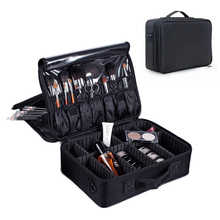 Oxford Waterproof Suitcases and Travel Bags Women Travel Makeup Box Packing Cubes Duffle Bags for Cosmetic Portable Weekend Bag