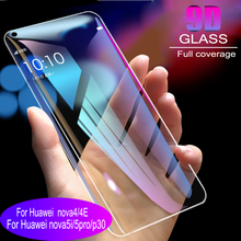 100pcs 9D Full Cover Tempered Glass For Huawei nova 4 4E 5i 5Pro P30 Screen Protector  Protective Film Anti Blue Ray available 100pcs dental universal x ray film mount frame 100pcs 2holes