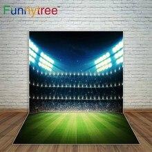 Funnytree copa do mundo de Estádio de futebol fundo sparkling brilhante fundo fotografia fundo fotográfico photocall decor