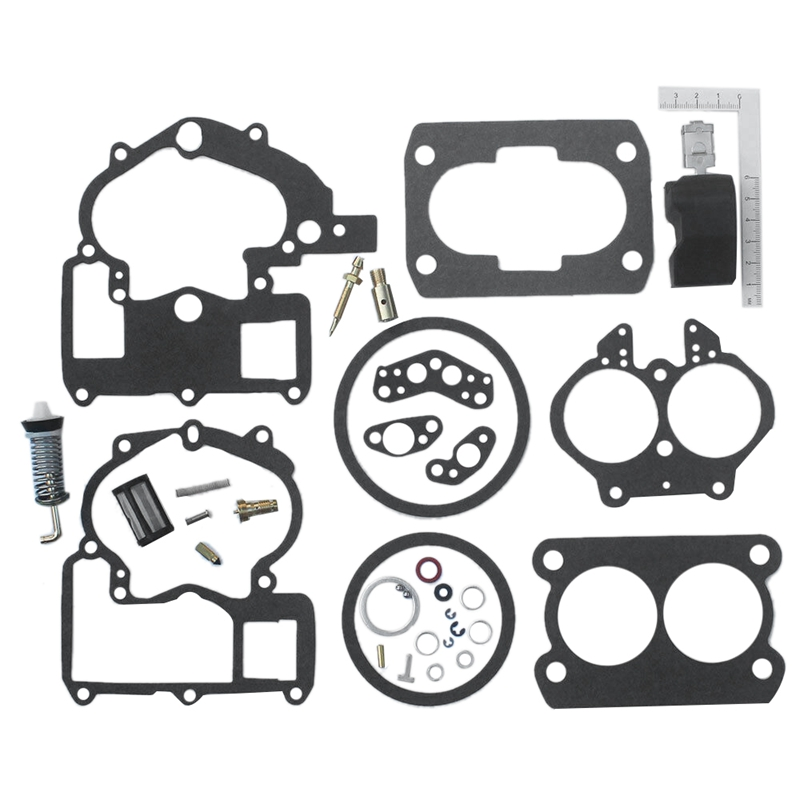 Carburetor Repair Rebuild Kit For Mercruiser Mercury Marine 3.0L 4.3L 5.0L 5.7L