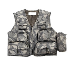 Summer season Out of doors Fishing Vest Jackets Breathable Males Waistcoats with Multi Pocket Fast-Drying Mesh Vest Tactical Images Vest