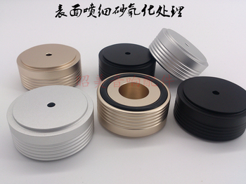 All aluminum alloy diameter 49 high 22 audio power amplifier feet speaker feet nail tripod shock absorber foot pad 49X22MM-10PCS
