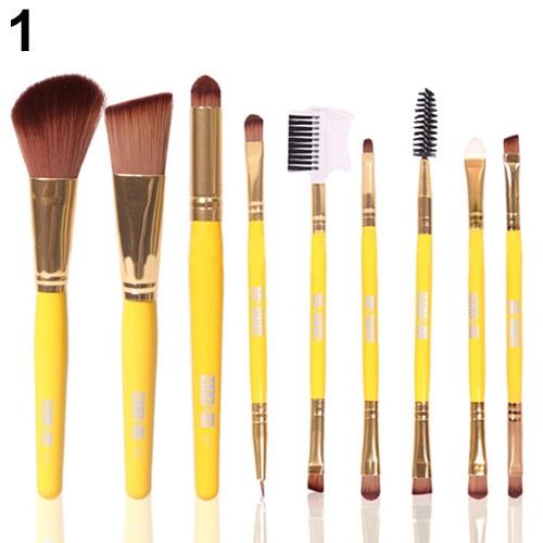 Tesoura de Maquiagem delineador beleza brushes tool set Material : Alloy, Nylon Fiber, Wood