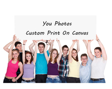 Waterproof Printing Photo Digital Painting Custom Canvas Print On Wall Pictures Home Decoration Gift Frameless