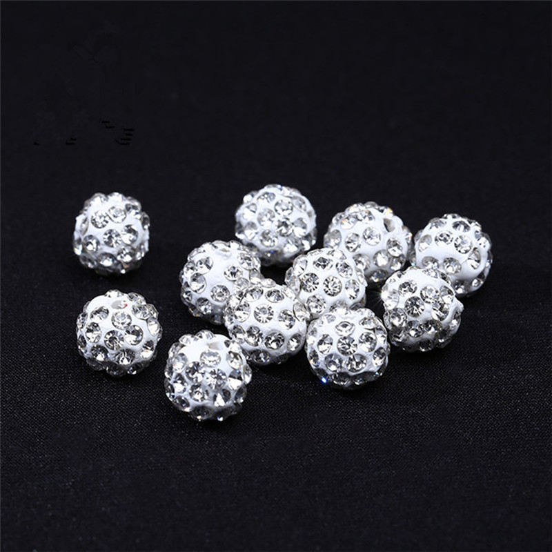 24//72pcs Fleur Loose Spacer Beads Jewelry Making Fit Bracelet argent 10 mm