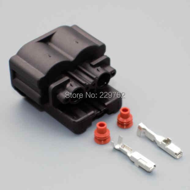 shhworldsea 2 pin car auto Crankshaft Position Sensor Plug connector  7283-6033-30 for Toyota Corolla Camry RAV4 Highlander 12611