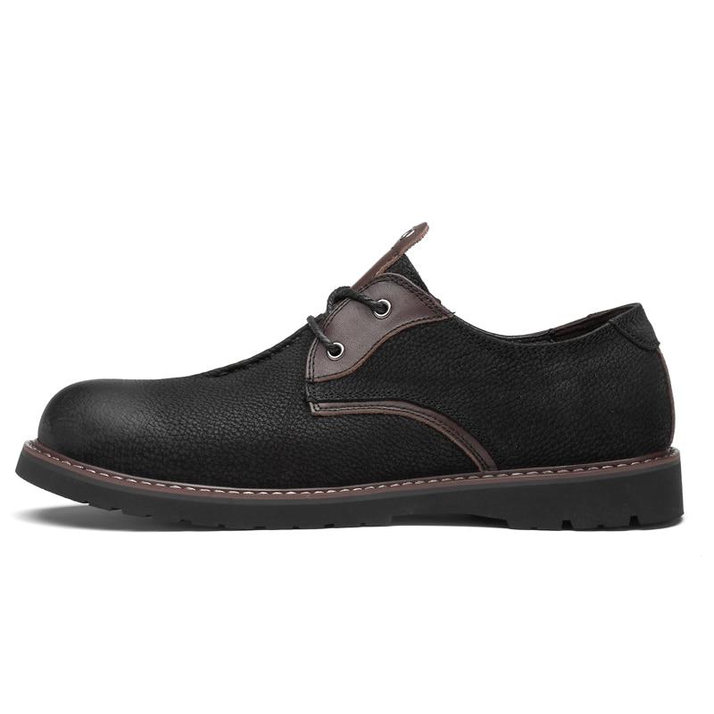 brown Masculino Calçados Primavera Outono Casual 2019 Oxfords De Black Sapatos Clax Caminhada Couro Mens Genuíno Designer Do Homem Sapato Z8UxzU