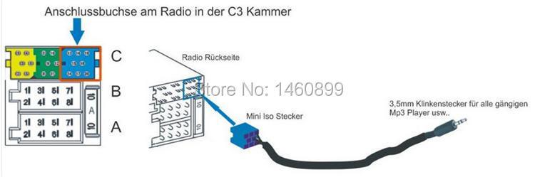 HTB107c2LFXXXXaNXVXXq6xXFXXXk aux cable audio aux in adapter 8pin mini iso for vw passat b5 polo Basic Electrical Wiring Diagrams at gsmx.co