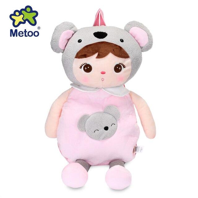 dcbda0c9cdb Metoo Boneka Manis Lucu Anjela Mewah Kartun Tas Boneka Koala Ransel Hewan untuk  Anak-anak