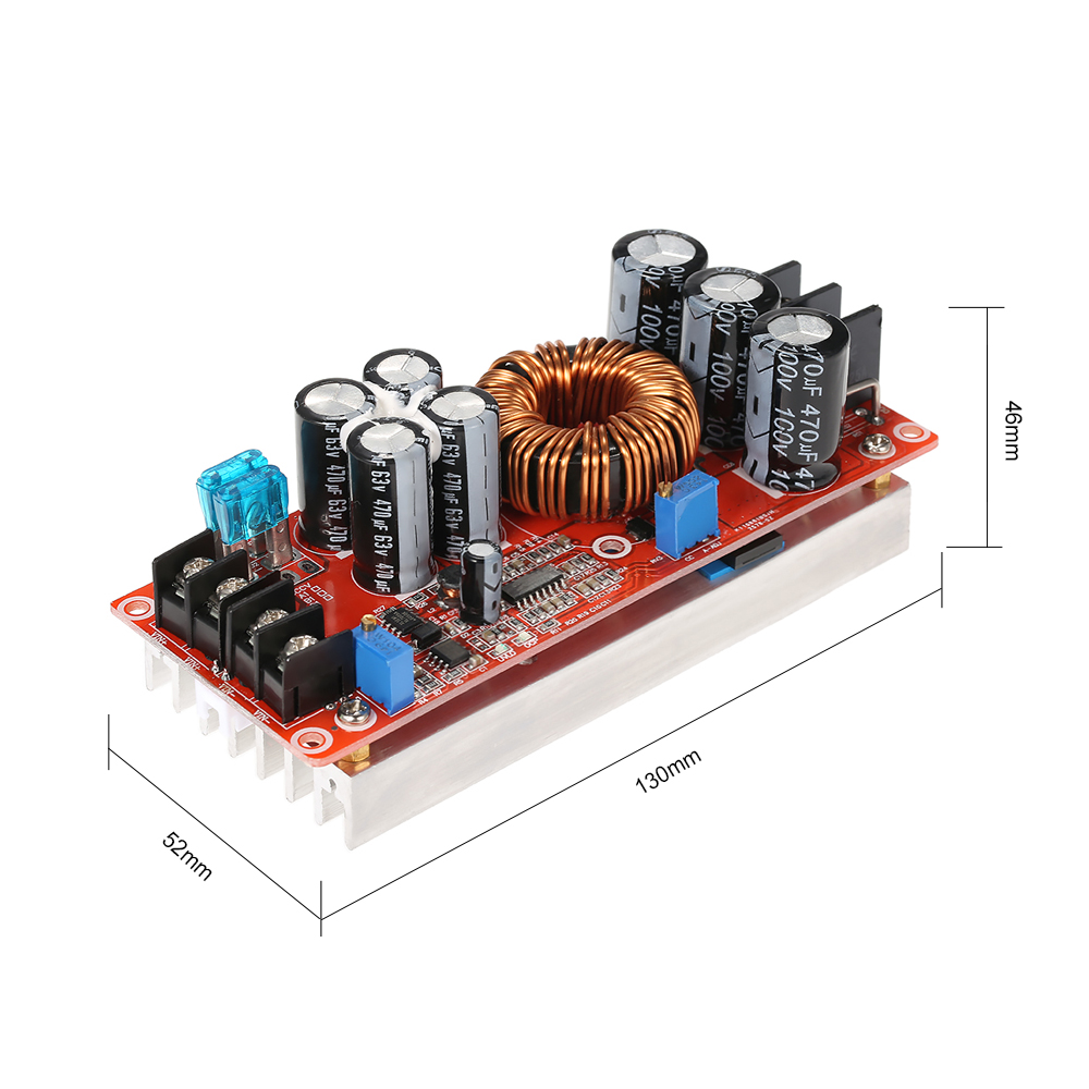 1200w High Power Dc Converter Boost Step Up Supply Module Dcdc Converters Content From Electronic Design 20a In 8 60v Out 12 80v Adjustable Instrument Parts Accessories Tools On