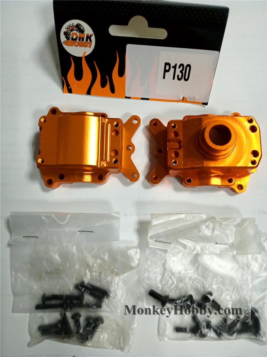 DHK części do zdalnie sterowanego samochodu z przodu/tył Diff skrzyni biegów (obrabiane made) P130 dla optimusa, Optimus XL, maximus, Zombie 8e, 9381 w Części i akcesoria od Zabawki i hobby na  Grupa 1