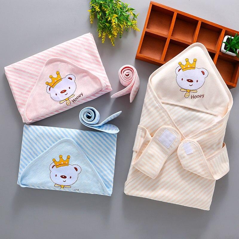 2018 Spring New Baby Cotton Blanket Receiving Newborn Baby