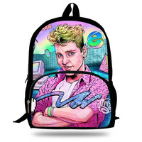 16 Inch Animes Vaporwave 90s Aesthetic Print Backpack For Teenagers Girls&Boys Daily Fashion Backpack Children School Bag