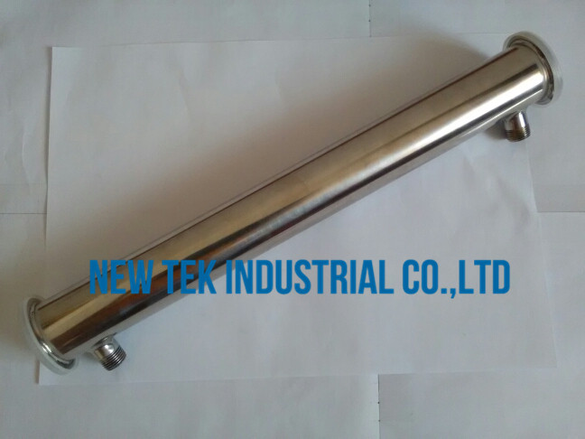 2 inch tri clamp x 450mm long stainless steel 304 reflux condenser moonshine accessories 1/2in. bsp adapter
