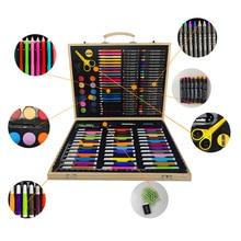 ילדי מתנת עפרונות עפרון מכתבים משרד שרטוט אחסון מקרה ציור מברשת תלמיד אמנות סט עט צבעי ציור