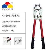 цена на Professional Large Crimp Plier Hex Crimper Crimping Tool Battery Cable Lug Crimping pliers Pressing Crimping Tool