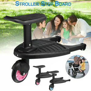 Baby Stroller Step Board Stopping Plate Twins Strollers Accessory Outdoor Activity Board Stroller Baby Seat Standing Plate(China)