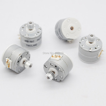5 шт. NMB 3 V-5 V DC 2 фазы 4 провода микро шаговый двигатель Шаг Угол 18 градусов с металлическим редуктором