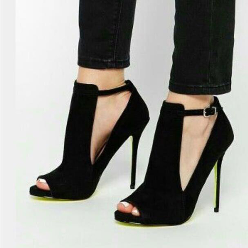 Online Get Cheap Black Strappy Heels -Aliexpress.com | Alibaba Group
