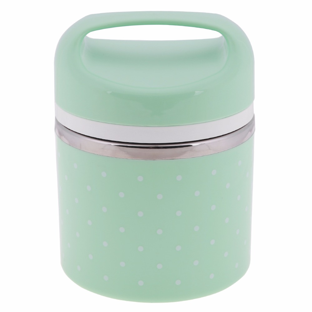 5d696a9a2174 ❤️ Portable Stainless Steel Thermos Lunch Box Insulated Food Container for  Students Kids Lunch ...