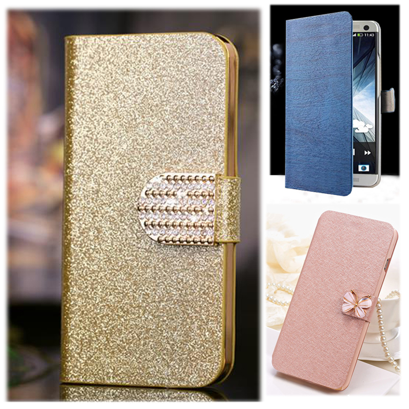 (3 Styles) Pu Leather Case Newest For HTC D600 leather Flip Cover Case With Card Holder Stand Cover Case For HTC Desire 600 606w