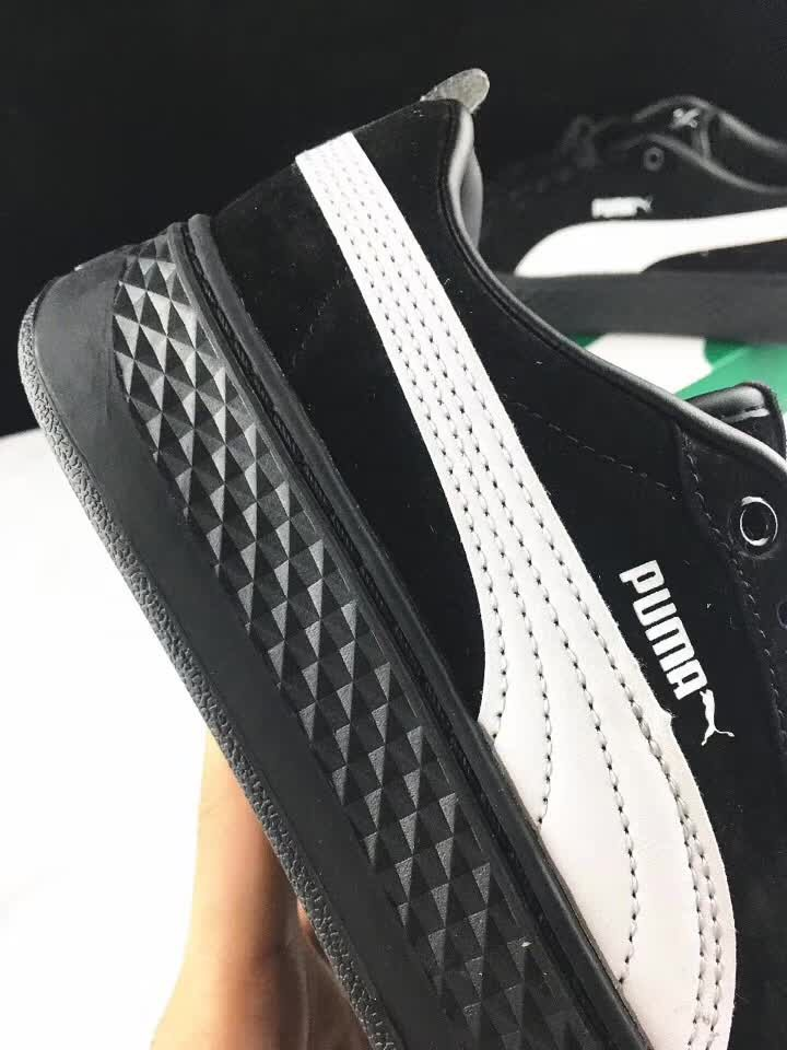 4f295ba796a1 PUMA FENTY Suede Cleated Creeper Women s First Generation Rihanna Classic  Basket Suede Tone Simple Badminton Shoes 36-40