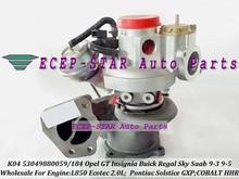 K04 53049880059 4814279 860224 860262 12652494 4811580 Turbo For Buick Regal For Opel GT Insignia HHR L850 Ecotec 2.0L Gasoline