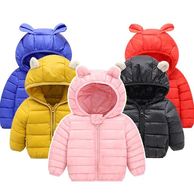 Infant Girls Coat 2019 Autumn Winter Jacket For Baby Boys Girls Jacket Kids Warm Outerwear Coat For Baby Jacket Newborn Clothes