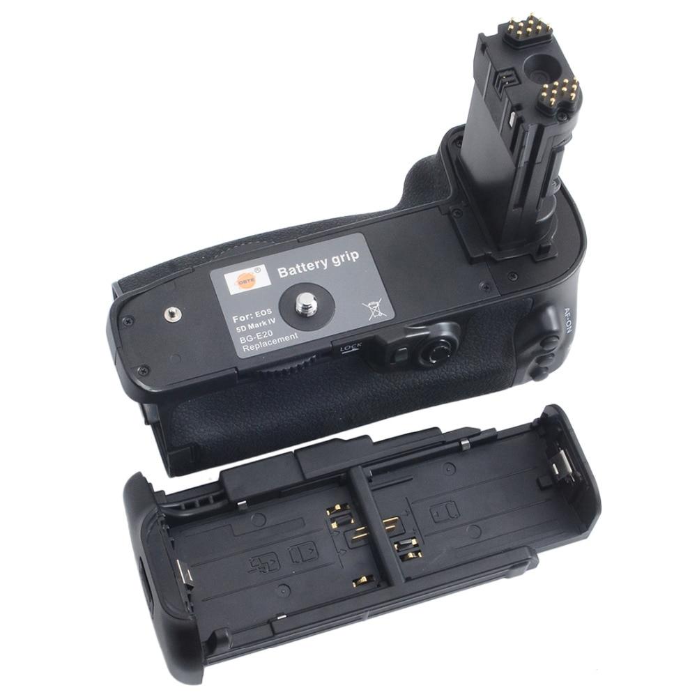 DSTE BG-E20 Battery Grip for CANON EOS 5D Mark IV 5DIV 5D4 DSLR Camera ruibo bg e9 battery grip for canon eos 60d black