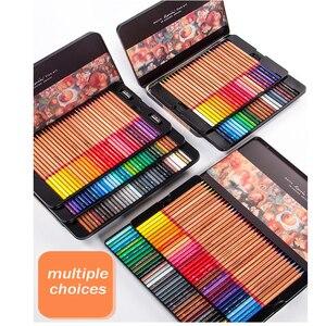 Image 2 - Renoir 48/72/100/120 수채화 물감 및 오일 컬러 연필 예술가 예술 공급 컬러 펜 핸드 페인팅 및 색칠 전문가