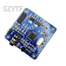 Vs1003b vs1053 mp3 módulo de decodificação, cabeça do microfone, stm32 microcontrolador placa desenvolvimento acessórios