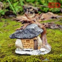 Повседневной коллекции Fairy сад искусственная Mini скульптура Micro пейзаж Ностальгический интерьер Открытый украшения сада