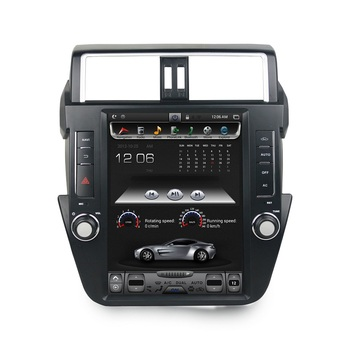"""4gb+32gb PX6 6-Core 12.1"""" Android 8.1 Car DVD Player for Toyota Prado 150 LC150 2014-2017 Radio GPS Bluetooth WIFI Easy Connect"""